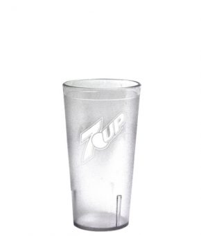 12oz 7UP Tumbler Clear