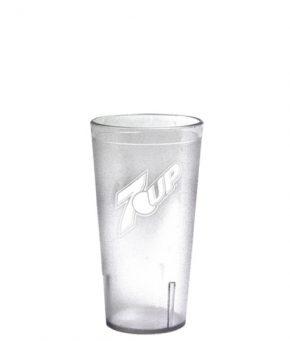 12oz 7UP Tumbler Clear