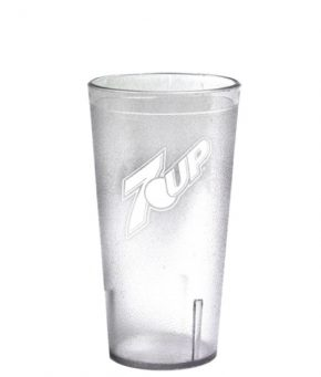 16oz 7UP Tumbler Clear