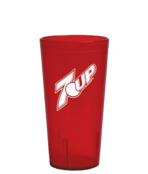 16oz 7UP Tumbler Red