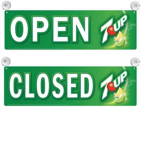UP8000 Open/Closed (Carton of 10)