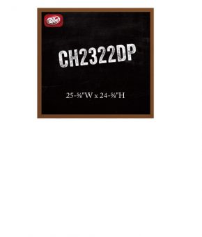 CH2322DP Chalk Menu Board