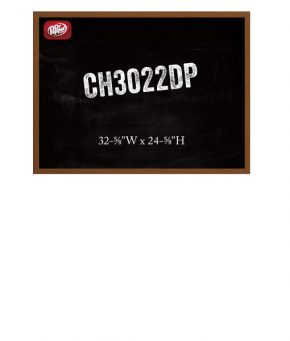 CH3022DP Chalk Menu Board