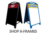 Shop Dr Pepper A-Frames
