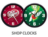 Shop Dr Pepper Clocks